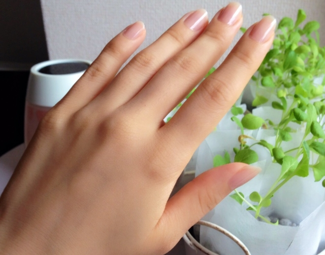 爪を整える